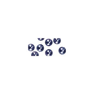 Perles en cire, 4mm ø lilas fonce,