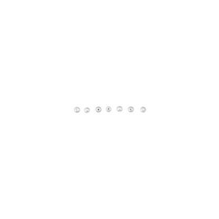 Perles Ronde,, 3 mm blanc
