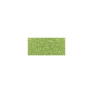 Rocailles, transparentes, 2,6 mm ø vert clair
