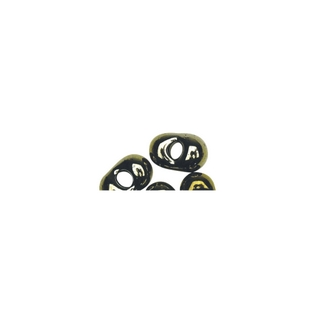 Rocailles papillon, 2x4 mm cuivre