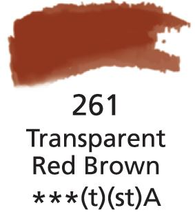 Aquarelles Extra-Fines Artist's Transparent Red Brown (A)