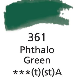Aquarelles Extra-Fines Artist's Phthalo Green (A)
