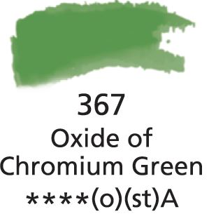 Aquarelles Extra-Fines Artist's Oxide Of Chromium Green (A)