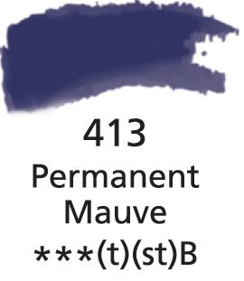 Aquarelles Extra-Fines Artist's Permanent Mauve (B)