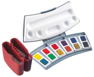 Pelikan Boîte de couleurs aquarelles d'études 725 D/12, bte.