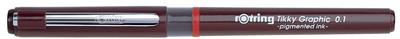 Rotring Tikky Graphic stylo feutre, largeur de tracé 0,1 mm pce.