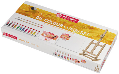 ROYAL TALENS Art Creation set combi de peinture à huile, 12x set