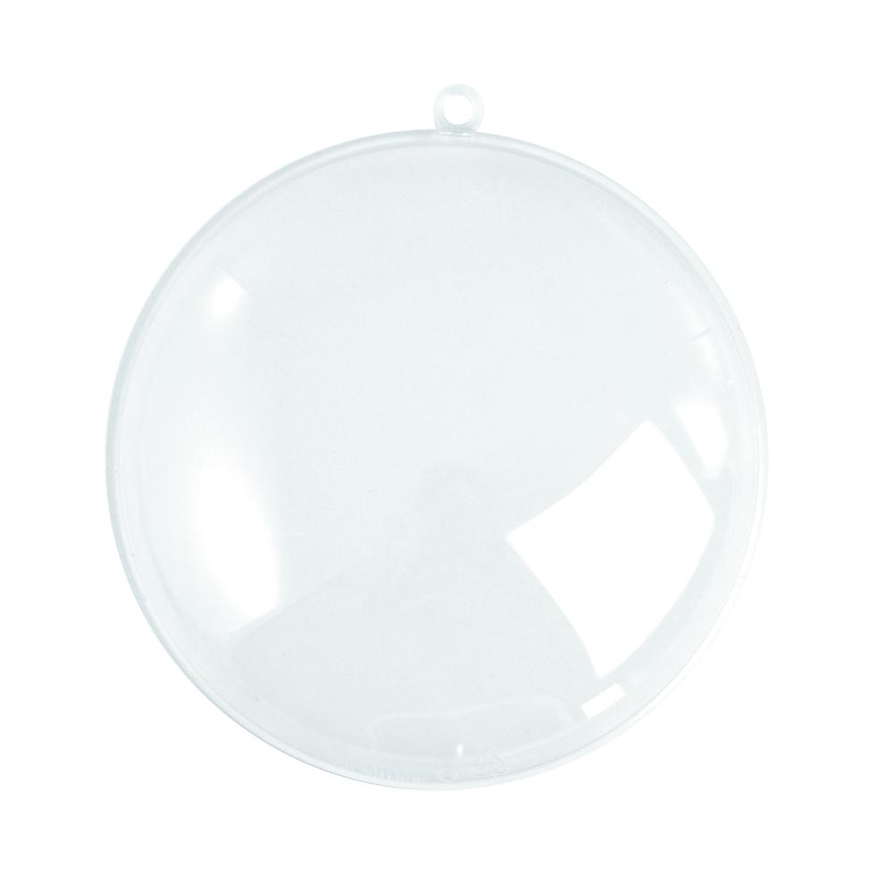 Medaillon en plastique,  2 parties 70 mm